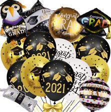 2021 Graduation Party Supplies Balloons Decorations, Class of 2021 Congrats Grad