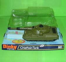Dinky / 683 Chieftain Tank / Boxed