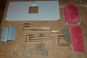 """Siemens SL6 circuit breaker mounting kit 10"""" P4 S4 copper LXD6 HLXD6 cover strap"""