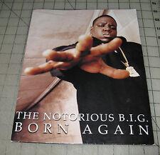 """1999 The Notorius B.I.G. Big """"Born Again"""" Promotional Portfolio - Nice !"""