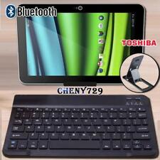 "For 10"" 11"" 12"" Toshiba Excite/Encore Tablet Wireless Bluetooth Keyboard + Stand"
