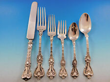 King Edward by Whiting Sterling Silver Flatware Set 12 Service 87 pcs Dinner