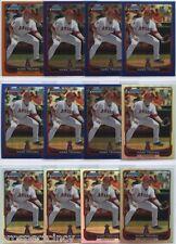 Lot of (142) Mark Trumbo 2012 Bowman Chrome COLOR Cards - Arizona Diamondbacks