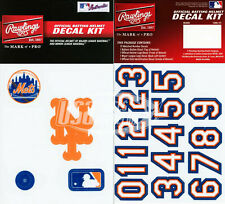 New York Mets MLB Baseball Batting Helmet Rawlings Decal Kit