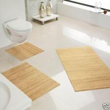 Alfombra de Baño Antideslizante Bambú, Baño, Baño,Color : Pure Aprox. 50x80