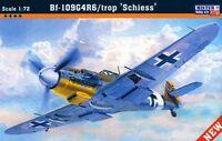 MESSERSCHMITT Bf 109 G-4/R6 TROP SHIES (LUFTWAFFE & ITALIAN AF) 1/72 MISTERCRAFT