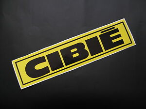 CIBIE race rally sticker/decal x2