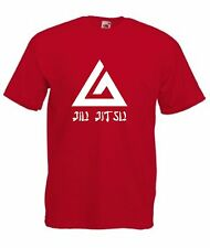 Jiu Jitsu Camiseta Para Hombre Mma Gimnasio símbolo Artes Marciales S-XXL