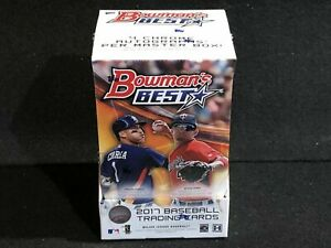 NEW UNOPENED FACTORY SEALED 2017 BOWMAN'S BEST BASEBALL HOBBY BOX
