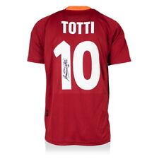Francesco Totti como Roma autografiado/firmado 2000-01 Jersey leyenda iconos Auténtico
