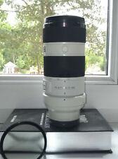 Sony Alpha sel70200g 70-200 mm f/4, 0 OSS g fe objetivamente