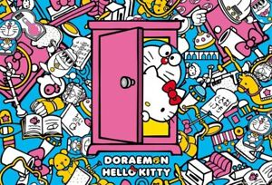 1000 Piece Jigsaw Puzzle Doraemon × Hello Kitty Secret Tools 49 x 72 cm
