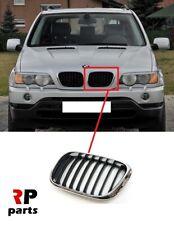 GRIGLIA ANTERIORE SINISTRA CROMATA-NERA BMW X5 E53 04/>06