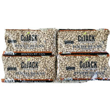 Cojack Dried Pinto Beans Lot Of Four 1lb Bags Best By 3/18/22