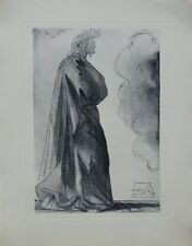 Salvador DALI : Paradis 1 - Dante - GRAVURE original signée #DIVINE COMEDIE