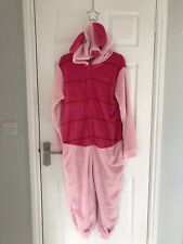 Ex Hire Fancy Dress Costumes - Piglet All In One Suit With Hooded Head - Small