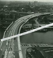 Mannheim - Hafen - Brücke Luftbild  - um  1960              S 14-4