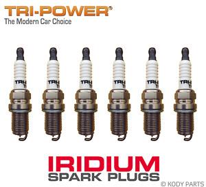 IRIDIUM SPARK PLUGS - for Nissan Stagea Wagon 2.5L 6 cyl Turbo C34 (RB25DET)