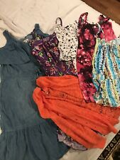 Lot of 6- Women's Size Large Summer Dress Clothing.