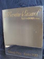 SPECCHIO PUBBLICITARIO BORSALINO FU LAZZARO ALESSANDRIA GRAND PRIX TURIN 1911