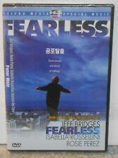 Fearless (DVD, 2013) JEFF BRIDGES DRAMA THRILLER IMPORT VERSION ALL REGIONS NEW