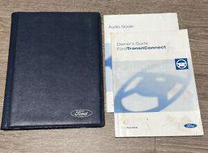 FORD TRANSIT CONNECT OWNERS MANUAL HANDBOOK & FOLDER BOOK PACK SET Mk1 2002-2009