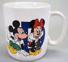 VIntage Tams Disneyland Paris Mickey Mouse ABC Mug Letter 'D'