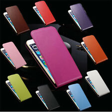 Vertical Flip Leather Cover Pouch Case For Samsung Galaxy Note 2 N7100 S3 Mini