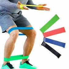 Resistance Elastic Rubber Bands Fitness Gym Workout Home Sport Yoga Equipment