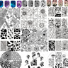 BORN PRETTY Nail Art Stamping Plate Stamp Image Stencil  Template Decor