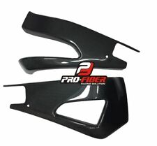 09-14 CARBON SWINGARM SWING ARM COVERS PROTECTORS YAMAHA YZF R1 2009-2014