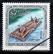 Specimen, Austria Sc1824 Folklore & Custom, Raft.