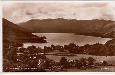 Postcard - ST. FILLANS AND LOCH EARN.      (Ref B5)