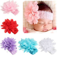 Lovely Baby Girl Toddler Lace Flower Hair Band Headwear Kids Headband Accessory