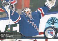 2014-15 Upper Deck Hockey #132 Henrik Lundqvist New York Rangers
