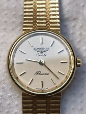longines 9 ct Solid gold Bracelet watch
