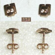 Orecchini Spina Oro 333er con Zirconia (da3621)