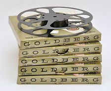 Five (5) New Goldberg 16Mm 400 Foot Reels >Free Shipping