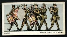 Tobacco Card, Mitchell, MODEL ARMY, 1932, Drum and Fife Band, #22