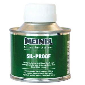 Meindl Silproof, produit d'entretien chaussures cuir.