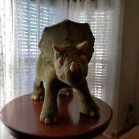 Playskool Kota the Triceratops Ride On Animatronic Life Size Baby Dinosaur