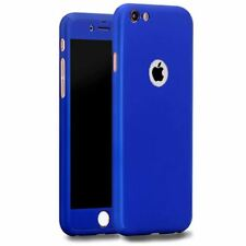 Tempered Glass Cover For Apple iPhone 10 X 8 7 6s 5 Hybrid 360° Shockproof Case
