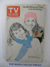 TV Guide  Nov. 8-14 , 1975   All In The Family/Grand Ole Opery Background