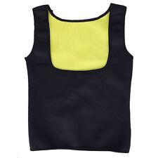 Women Neoprene Push Up Vest Sweat Waist Trainer Hot Body Shaper Cincher Corset @