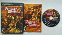 Dynasty Tactics 2 PlayStation 2 PS2 Complete Game Works Tested