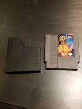 Nintendo NES Deja Vu Mystery RARE Video Game Cartridge Entertainment System 1985