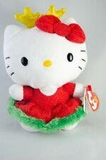 Ty Beanie Babies Hello Kitty Christmas