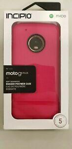 Incipio - Rugged Polymer NGP Case for Motorola Moto G5 Plus XT1803 - Berry Pink