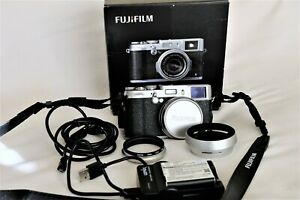 FUJIFILM X100S 16mp DIGITAL CAMERA OUTFIT BOXED WITH EXTRAS SHUTTER COUNT 5500