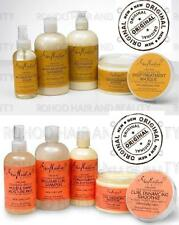 shea moisture Coconut & Hibiscus and Raw Shea Butter hair products.